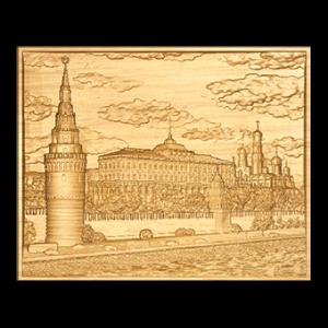 картина кремлевская набережная