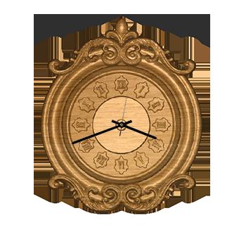 часы из дерева 02