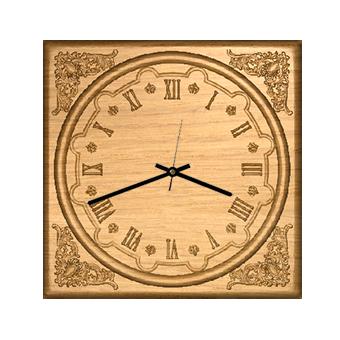 часы из дерева 04