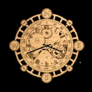 часы из дерева 05